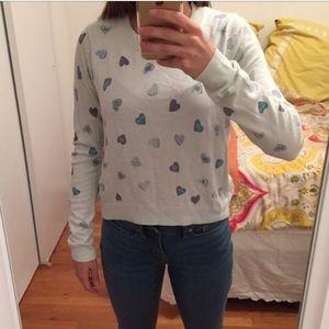 Lauren Conrad LC heart sweater